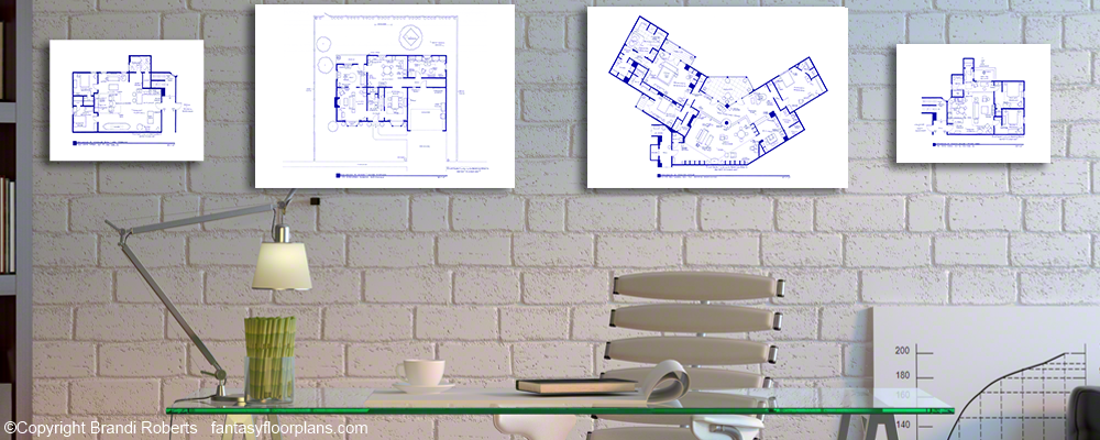 TV Show Floor Plans for Famous Homes and Apartments | Buy TV Floor ...