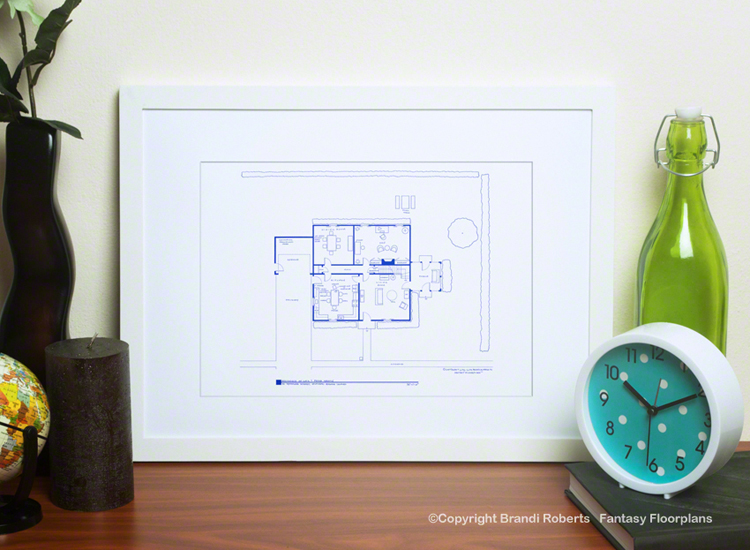 Buy A Poster Of My Family Guy House Floor Plan