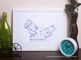 frasier crane apartment floor plan image