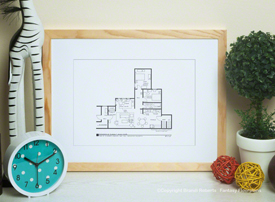 Good Times Apartment Floor Plan image