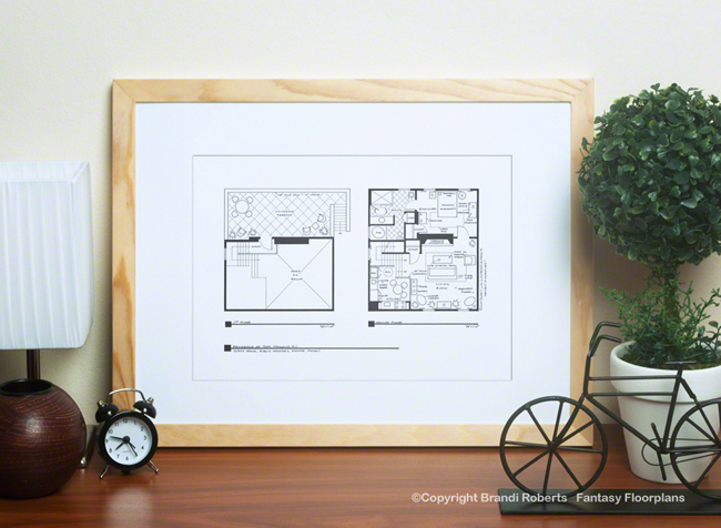Magnum P.I. Guest House floor plan image