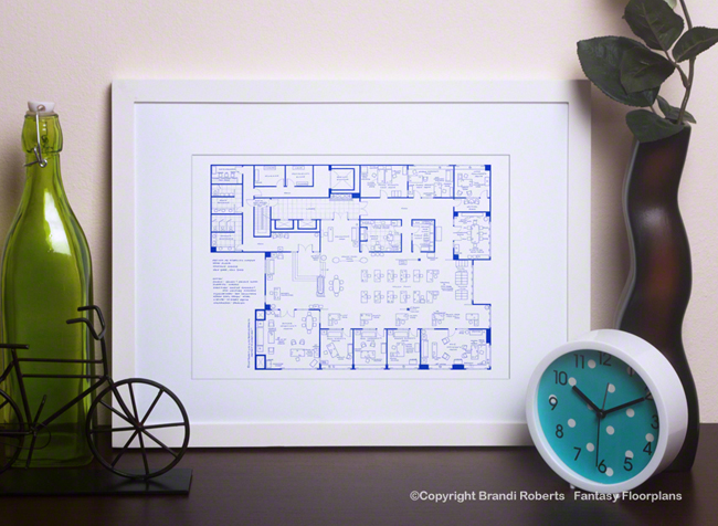 Mad Men Office Floor Plan: 23nd Floor image