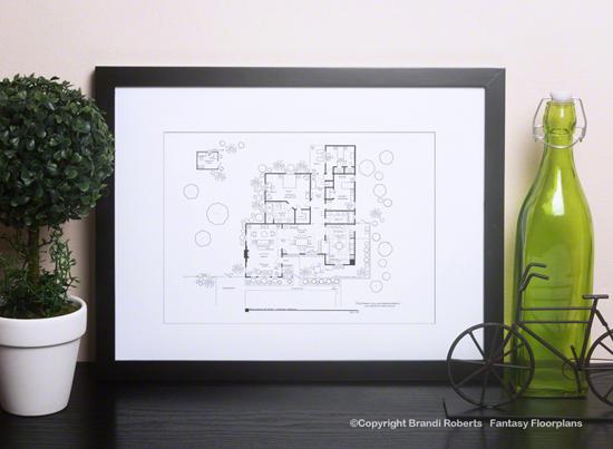 rita and dexter morgan home floor plan image