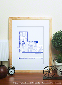 Seinfeld Apartment Floor Plans (Set of 4) image