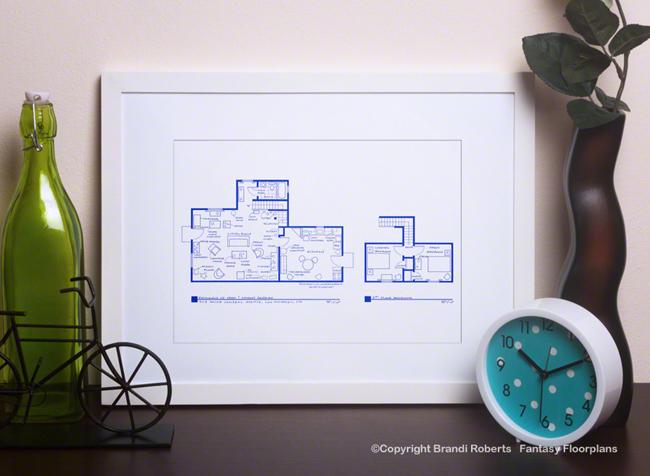 Ab fab house layout