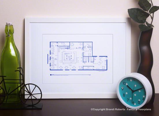Ballykissangel Pub Floor Plan image