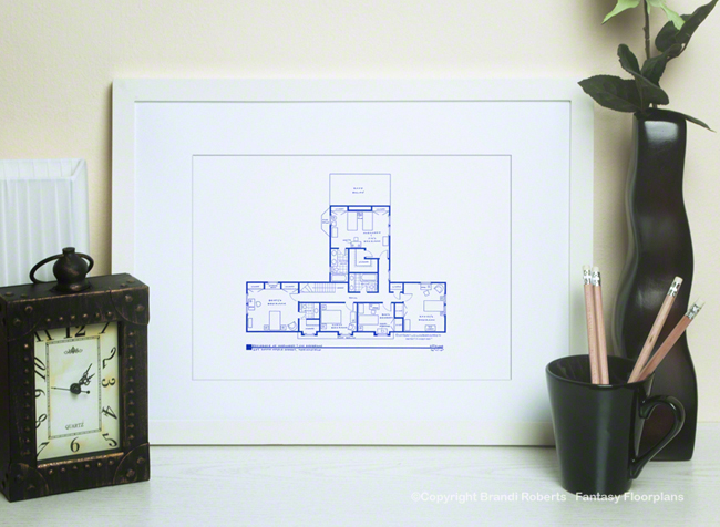 Father Knows Best House Floor Plan (2nd Floor) image