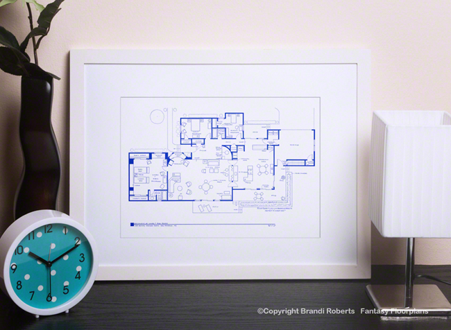 Ghost Whisperer House Floor Plan