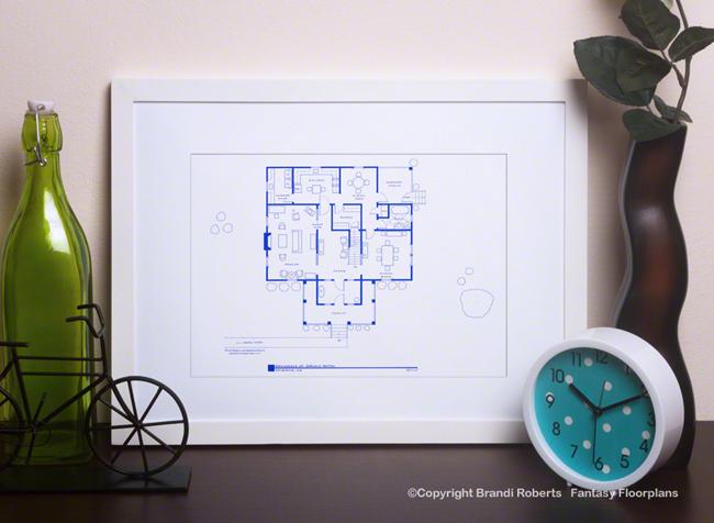 Psycho House Floor Plan (1st Floor) Image