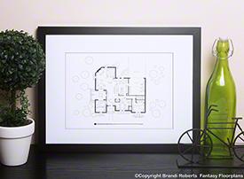 Home improvement tv show floor plan