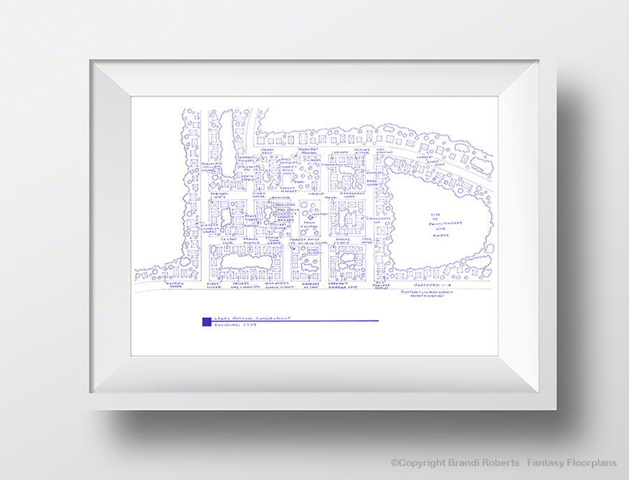 Gilmore Girls: Stars Hollow CT Map