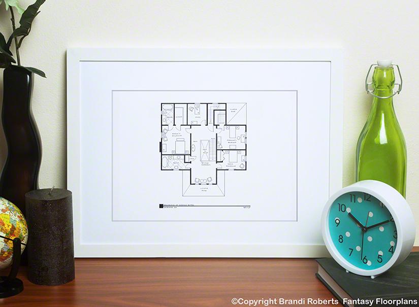 Psycho house floor plan