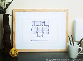 Psycho House Floor Plan (2nd Floor) image