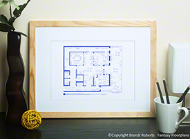 Parks and Recreation Office Floor Plan