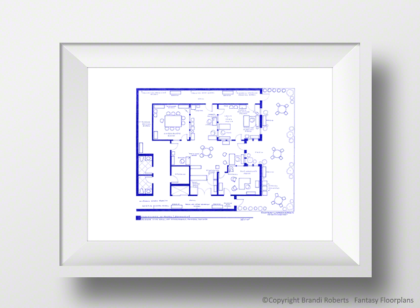 parks and recreation office layout image