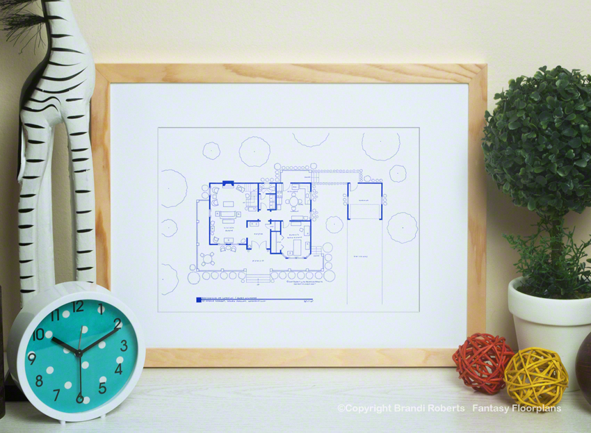 Gilmore Girls House Floor Plan: 1st Floor image