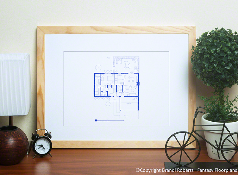 The Office Floor Plan: Jim's Apartment image