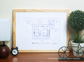 Revenge House Floor Plan (1st Floor) image