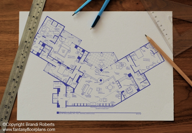 frasier apartment floor plan buy a poster of frasier frasier afficionado floor plan of frasier s condo