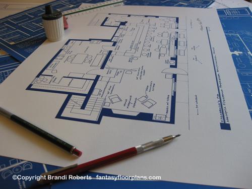 Ballykissangel pub floor plan