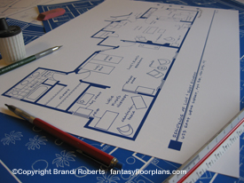 Blueprint for Lucy and Ricky Ricardo New York Apartment