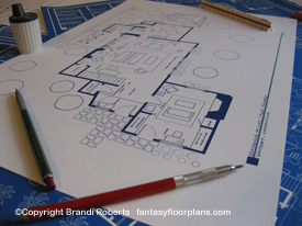 I Love Lucy House floor plan