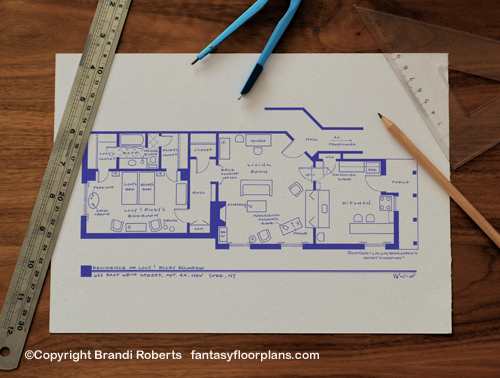 Tv Show Floor Plans For Famous Homes And Apartments Buy