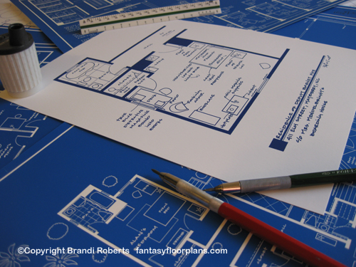 Fantasy Floorplan™ for The Andy Griffith Show - Residence of Barney ...