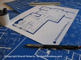 Floor plan for Rocky Balboa apartment