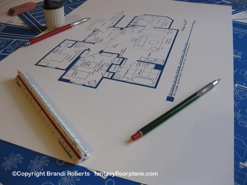 Three's Company Apartment Floor plan