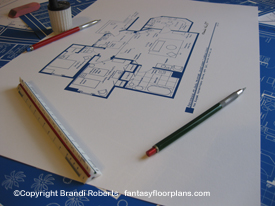 Three's Company Apartment Floor plan
