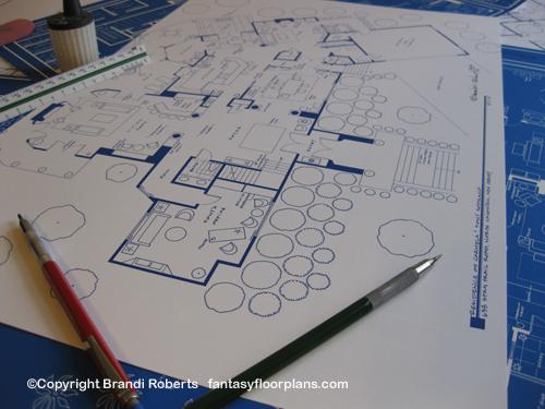 Fantasy Floorplan For The Sopranos Residence Of Carmela