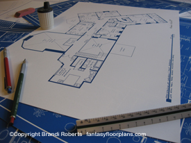 The Sopranos House Floor Plan: 2nd Floor image