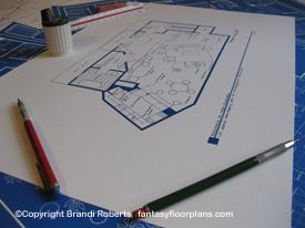 Mary Richards Apartment Floor plan