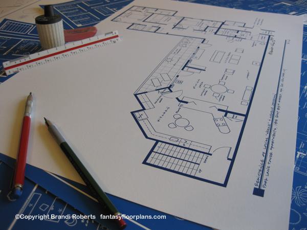 fantasy floorplan for the jeffersons residence of the jeffersons apartment floor plan free home design