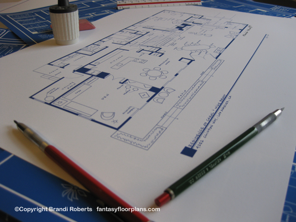 brady bunch house floor plan