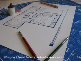 The Brady Bunch home blueprint