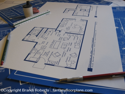 Fantasy Floorplan For Sanford Amp Son Residence Of Fred