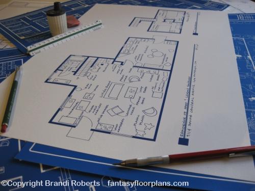 Sanford and Son Floor plan