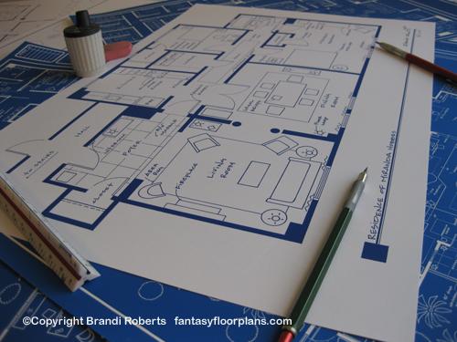 Miranda Hobbes Apartment floor plan