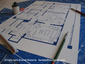Sex and the City Apartment Floor Plan: Miranda image