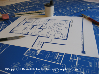 George Costanza apartment floor plan