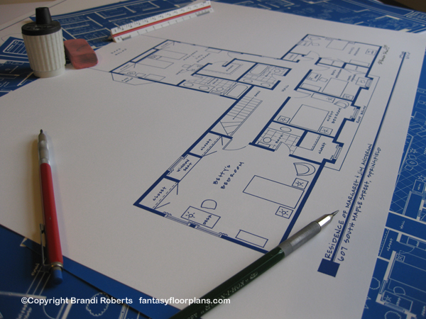 Father Knows Best home floor plan
