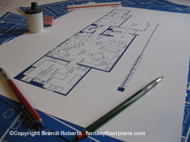 Mad About You Apartment Floor Plan image