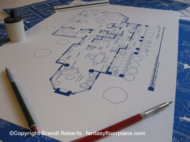 Desperate Housewives Gaby Solise house floor plan