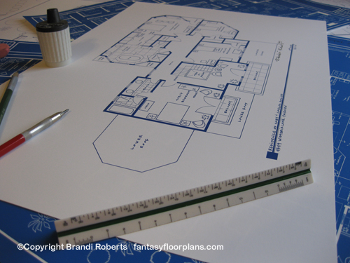 fantasy floorplan for desperate housewife residence of