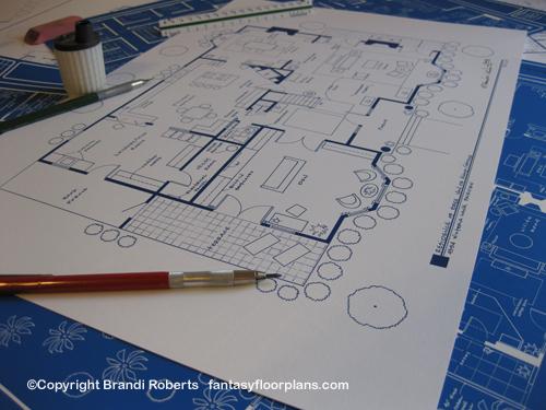 Desperate Houswives Bree Hodge house floor plan