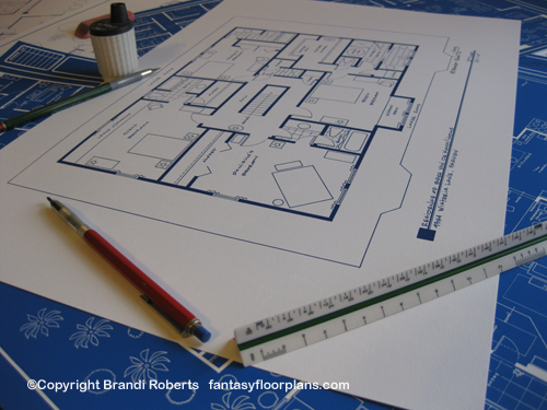 Desperate Housewives Bree Hodge house floor plan