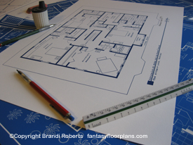 Desperate Housewives Bree Hodge house floor plan