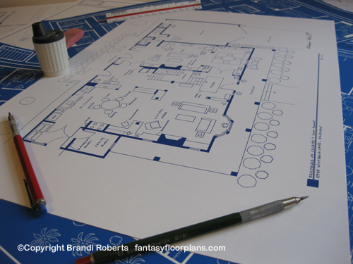 Desperate Housewives Lynette Scavo house floor plan image